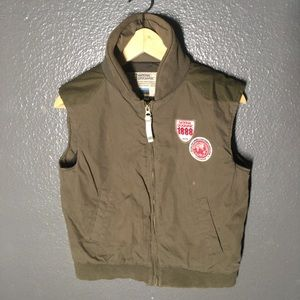 Vintage National Geographic Patched Vest